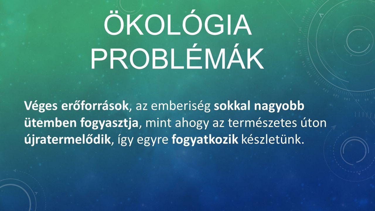 Ökológia problémák