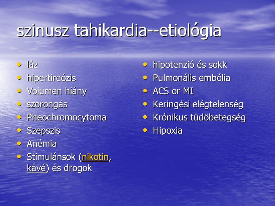 szinusz tahikardia--etiológia