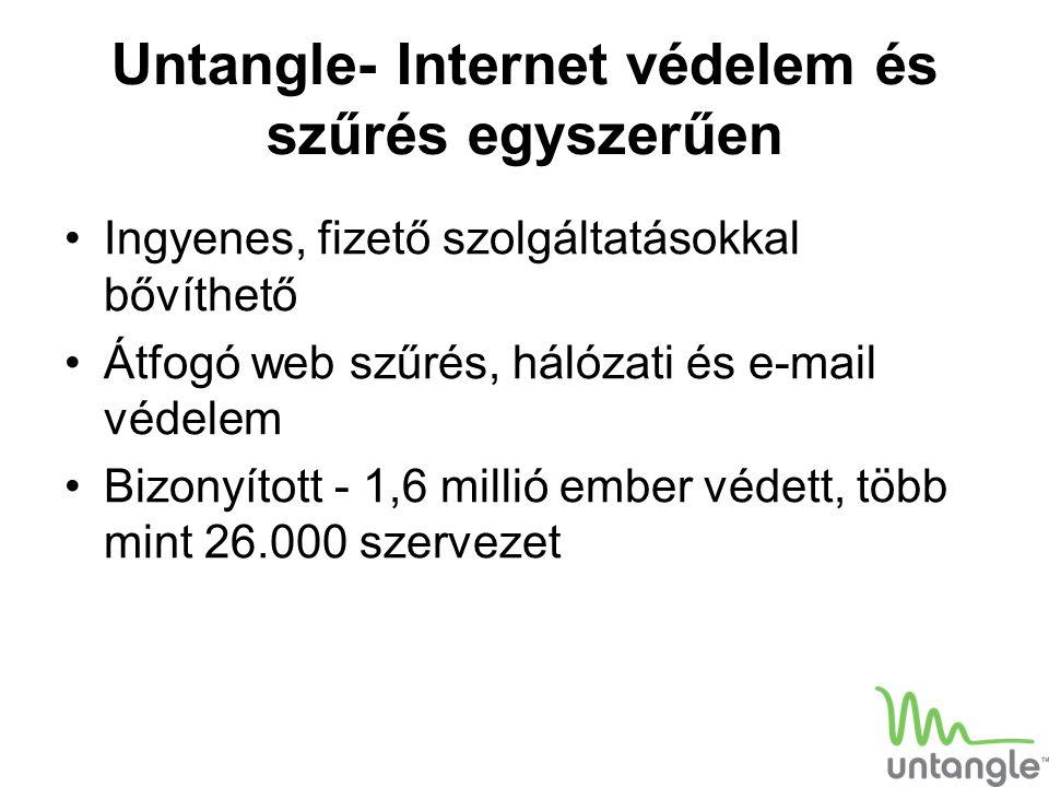 Untangle- Internet védelem és szűrés egyszerűen