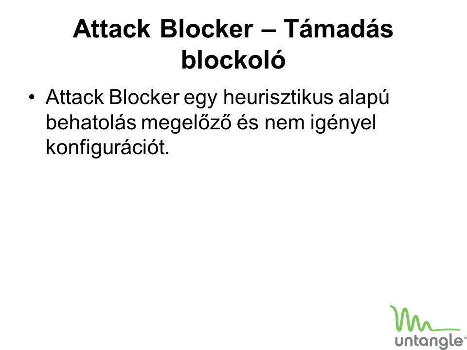 Attack Blocker – Támadás blockoló