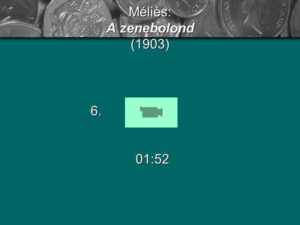 Méliès: A zenebolond (1903)