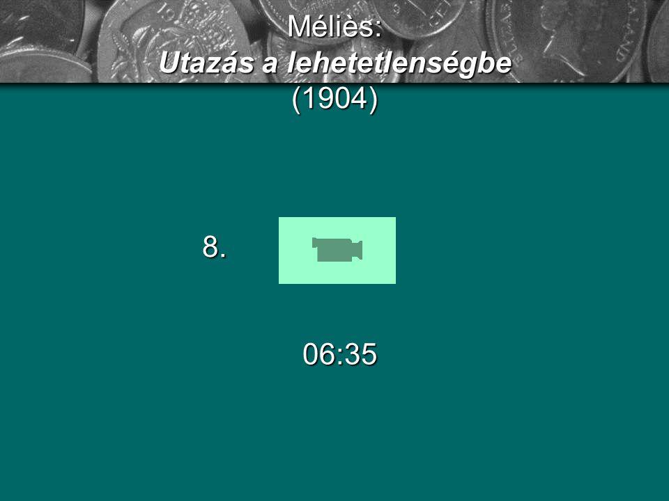 Méliès: Utazás a lehetetlenségbe (1904)