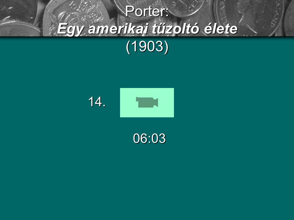 Porter: Egy amerikai tűzoltó élete (1903)