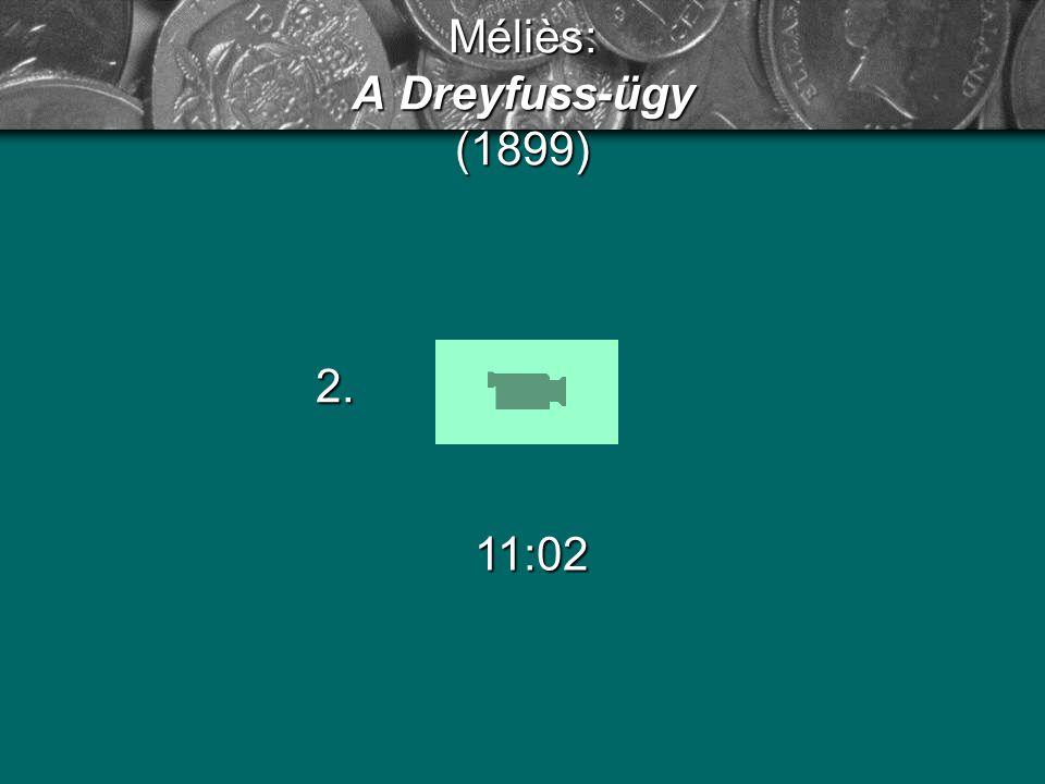 Méliès: A Dreyfuss-ügy (1899)