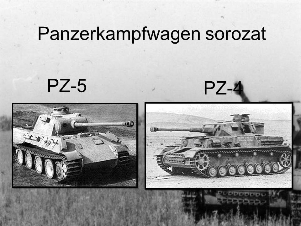 Panzerkampfwagen sorozat