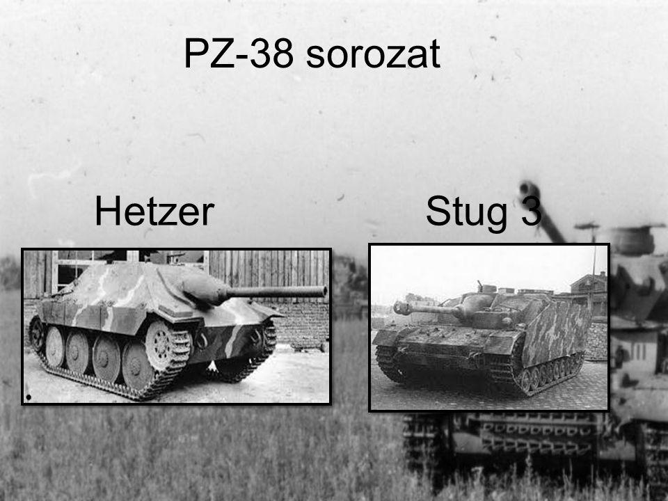 PZ-38 sorozat Hetzer Stug 3