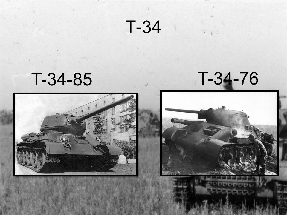 T-34 T-34-85 T-34-76
