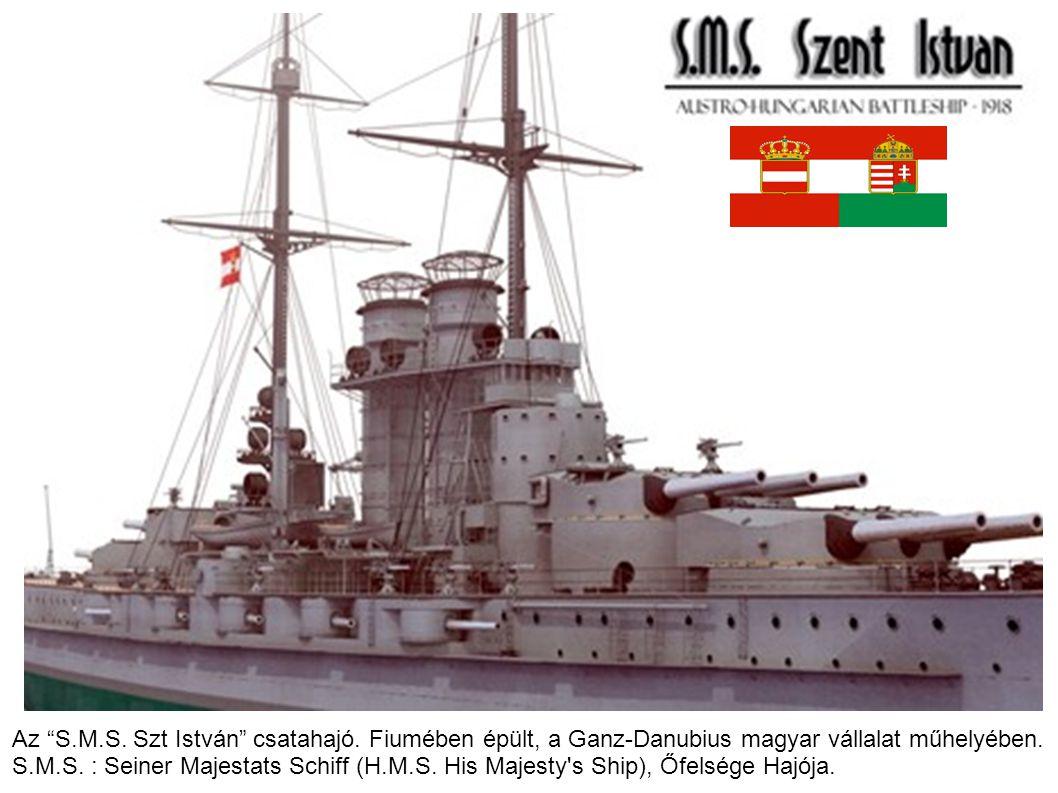 Az S. M. S. Szt István csatahajó