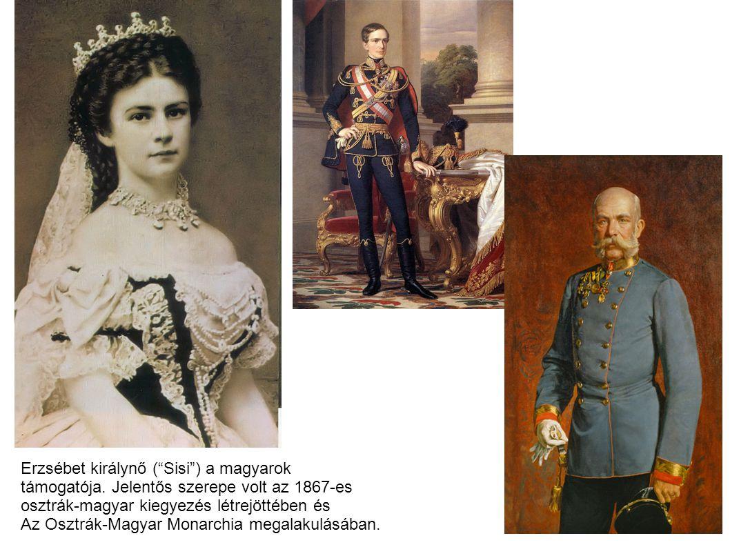Erzsébet királynő ( Sisi ) a magyarok