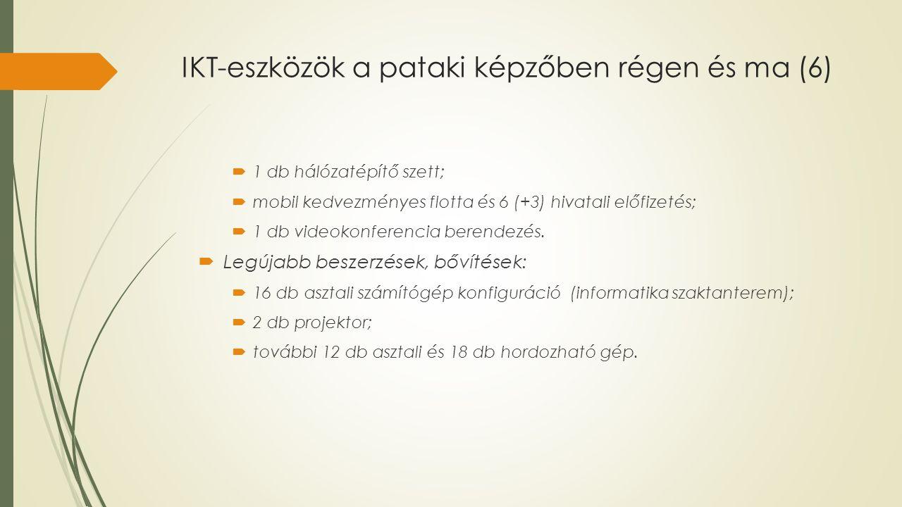 IKT-eszközök a pataki képzőben régen és ma (6)
