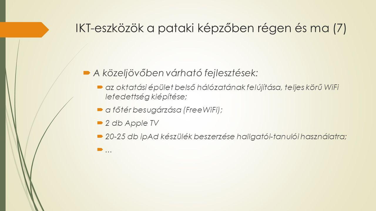 IKT-eszközök a pataki képzőben régen és ma (7)