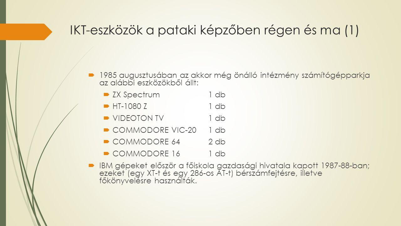 IKT-eszközök a pataki képzőben régen és ma (1)