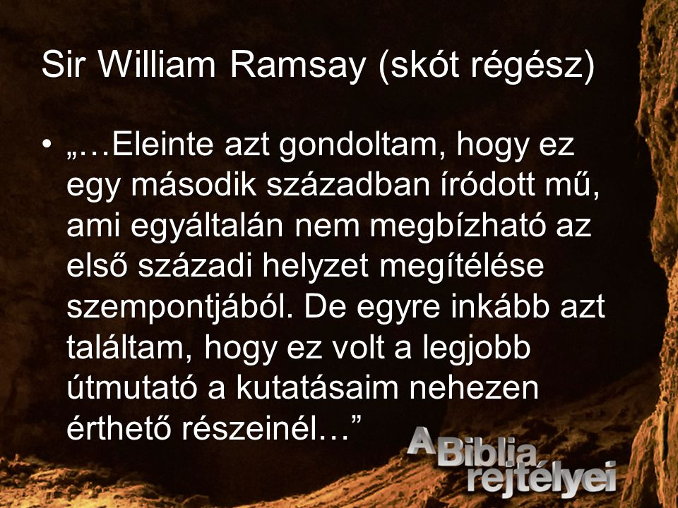 Sir William Ramsay (skót régész)