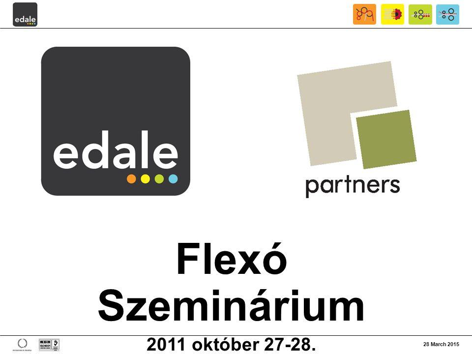 Flexó Szeminárium 2011 október 27-28. 08 April 2017