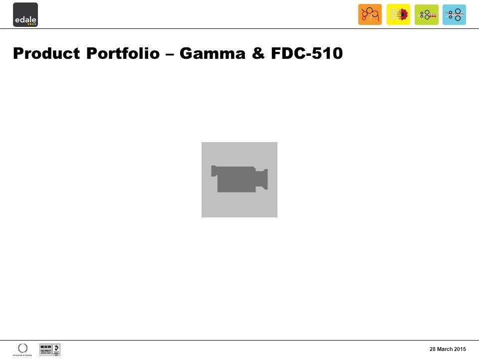 Product Portfolio – Gamma & FDC-510