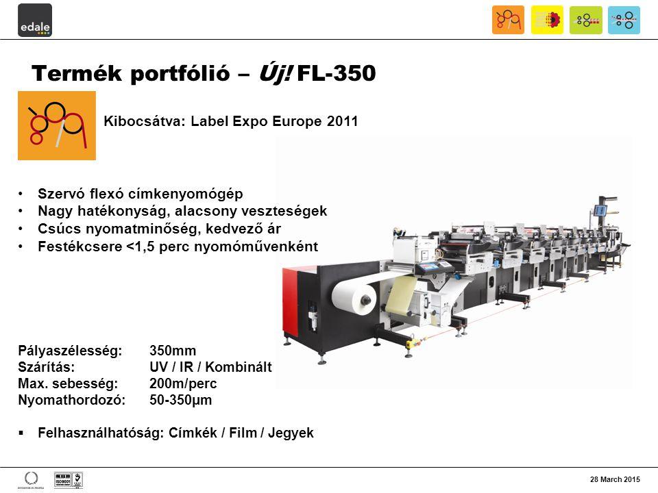 Termék portfólió – Új! FL-350