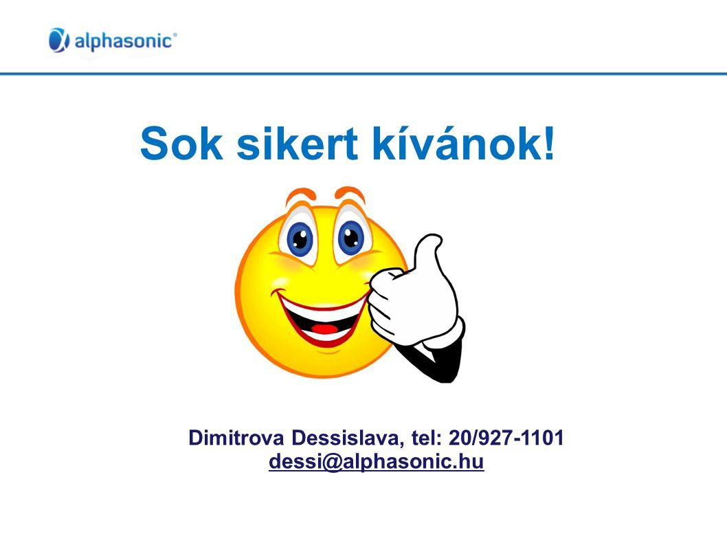 Dimitrova Dessislava, tel: 20/927-1101
