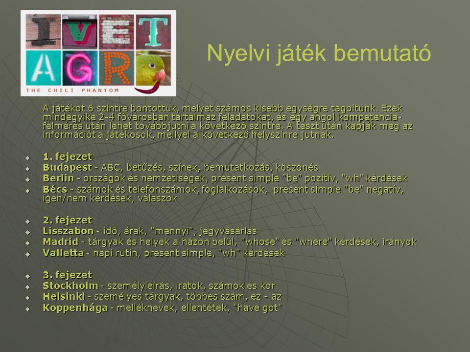 Nyelvi játék bemutató