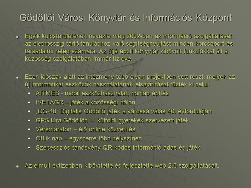 Gödöllői Városi Könyvtár és Információs Központ