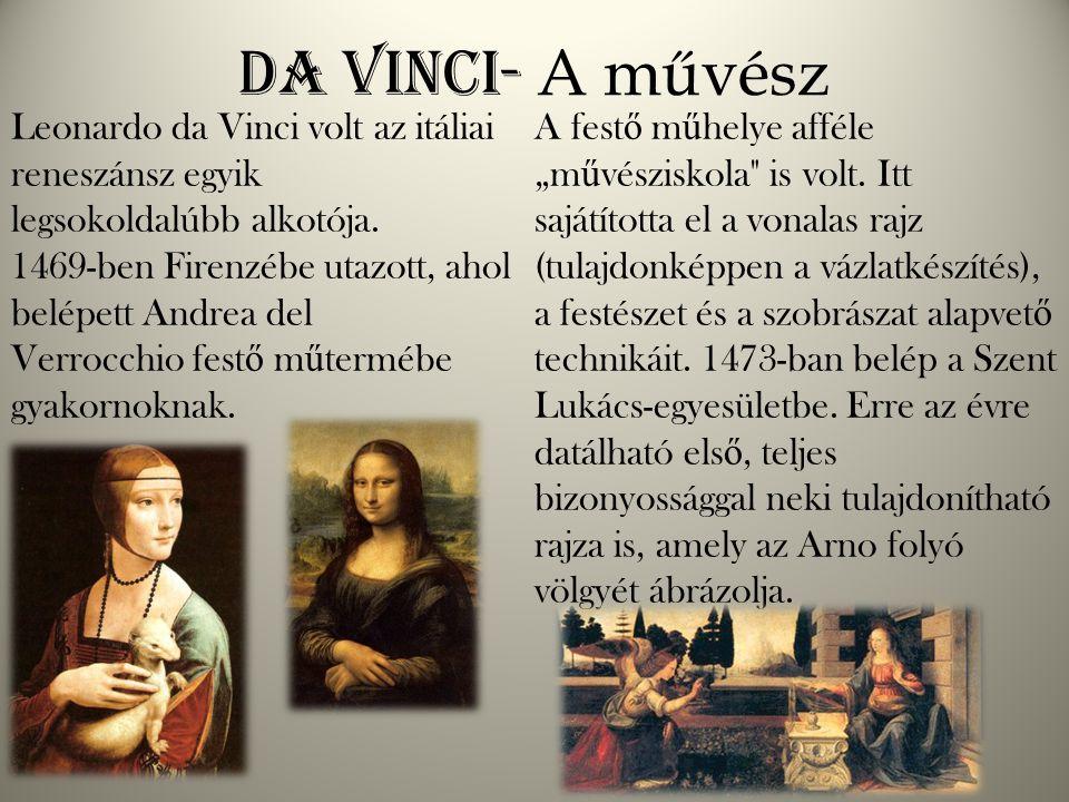 Da Vinci- A művész