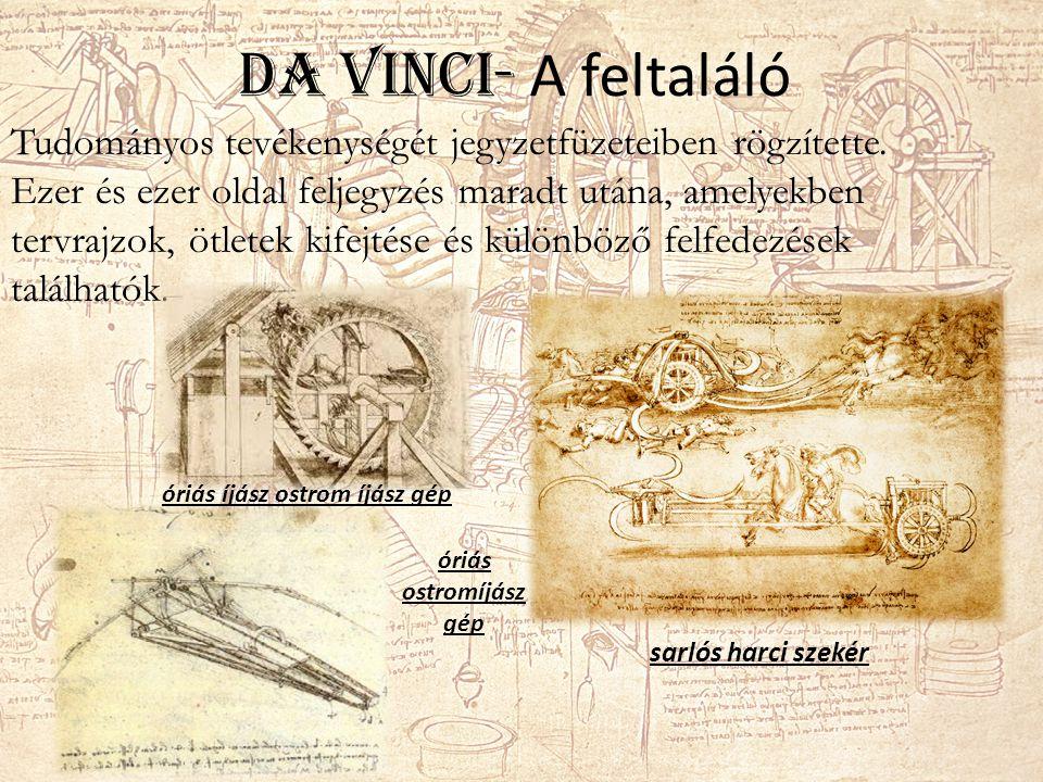 Da Vinci- A feltaláló