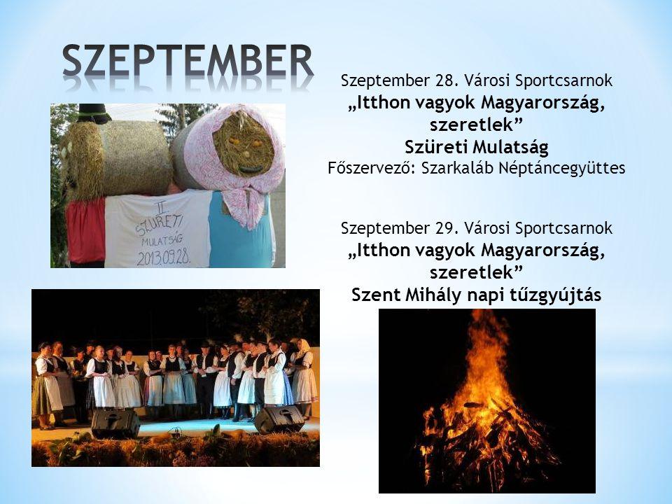 """""""Itthon vagyok Magyarország, szeretlek Szent Mihály napi tűzgyújtás"""
