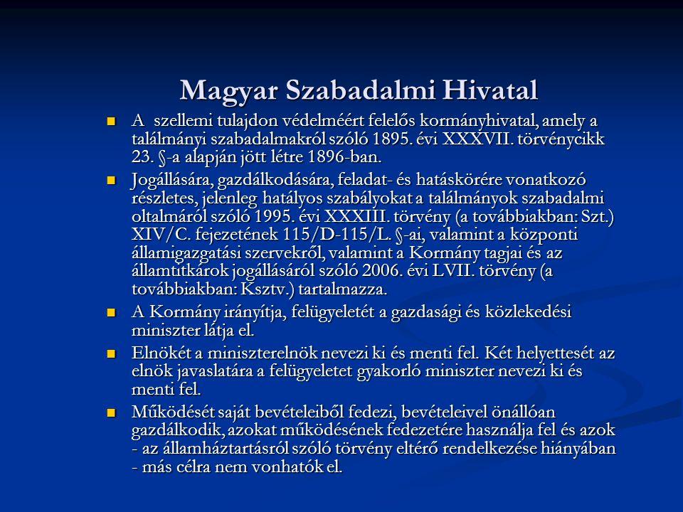 Magyar Szabadalmi Hivatal