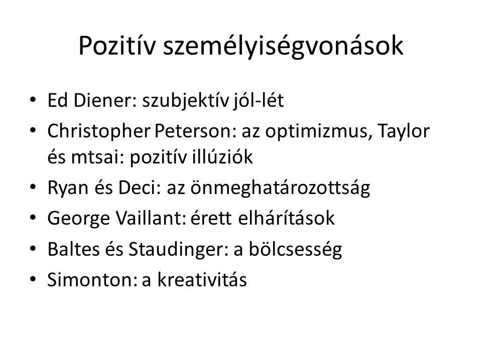 Pozitív személyiségvonások