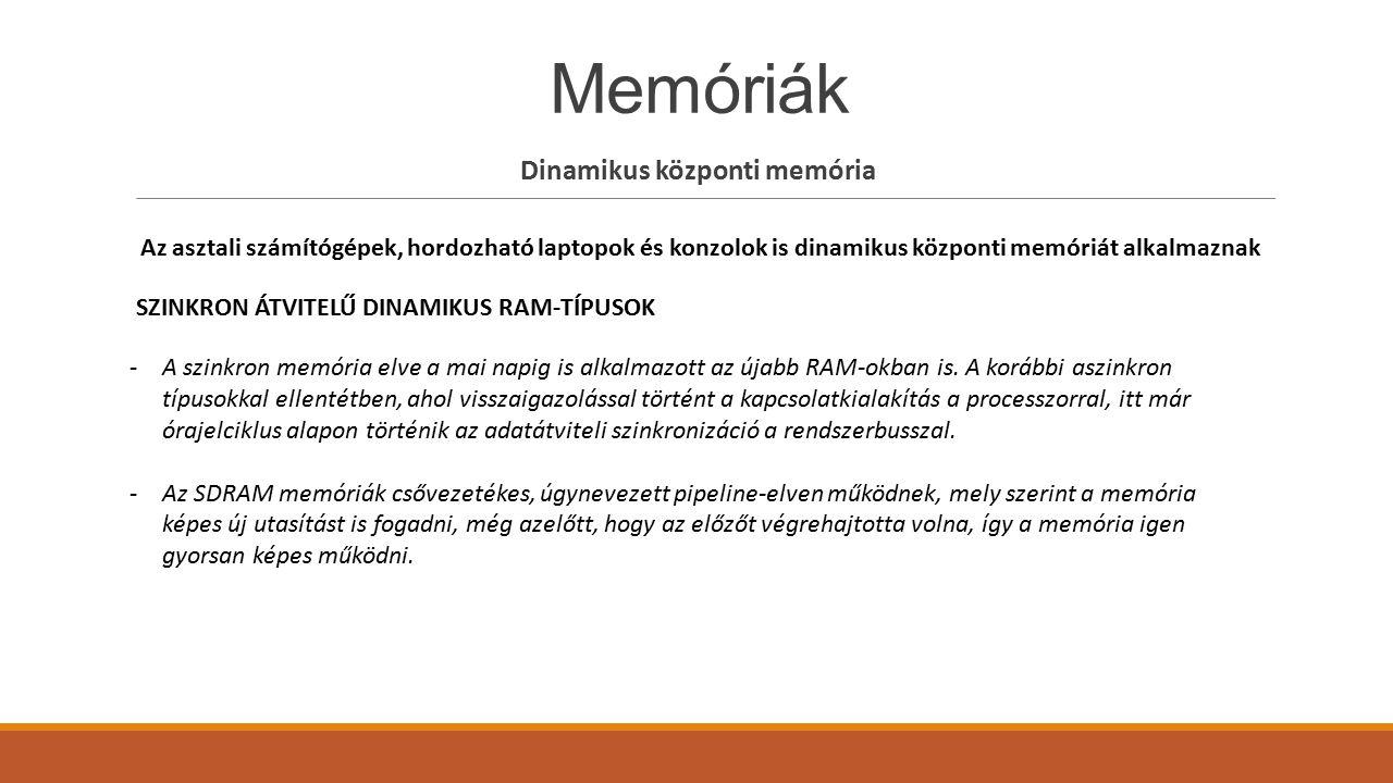 Dinamikus központi memória