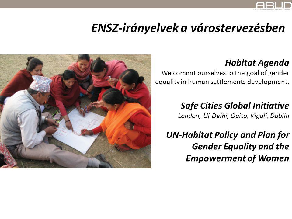 ENSZ-irányelvek a várostervezésben