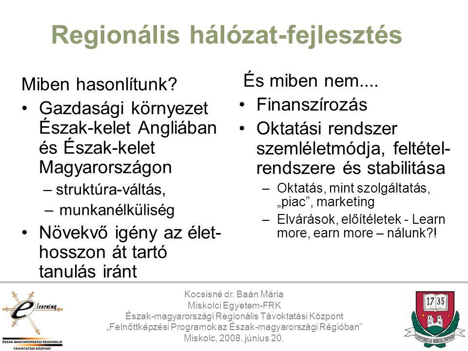 Regionális hálózat-fejlesztés