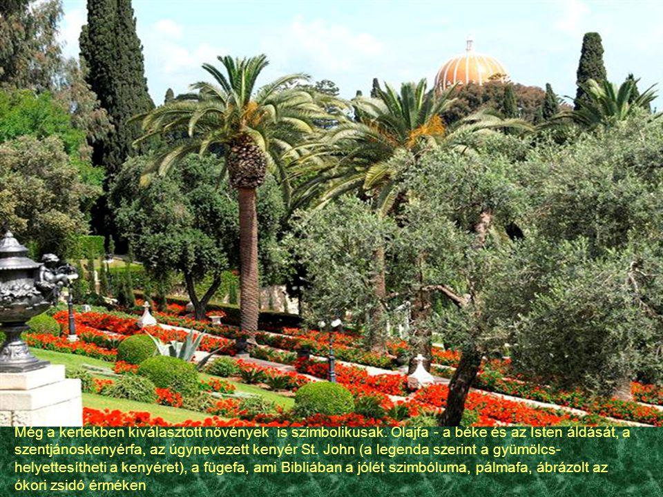 Még a kertekben kiválasztott növények is szimbolikusak