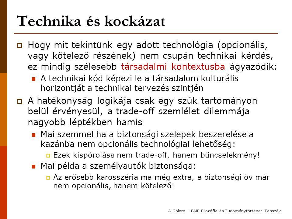 Technika és kockázat