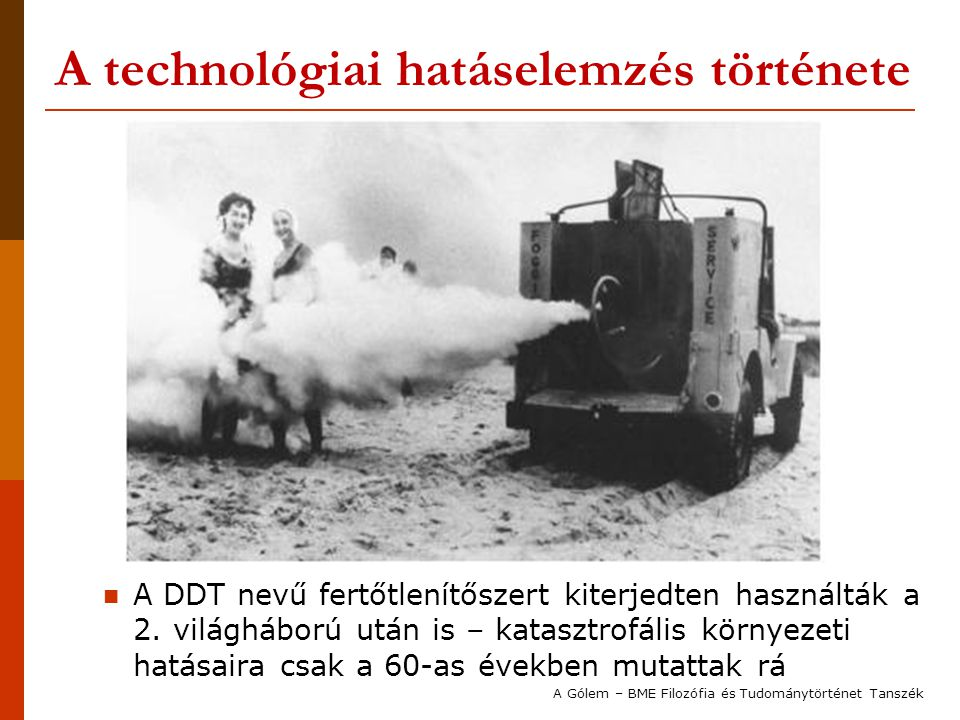 A technológiai hatáselemzés története