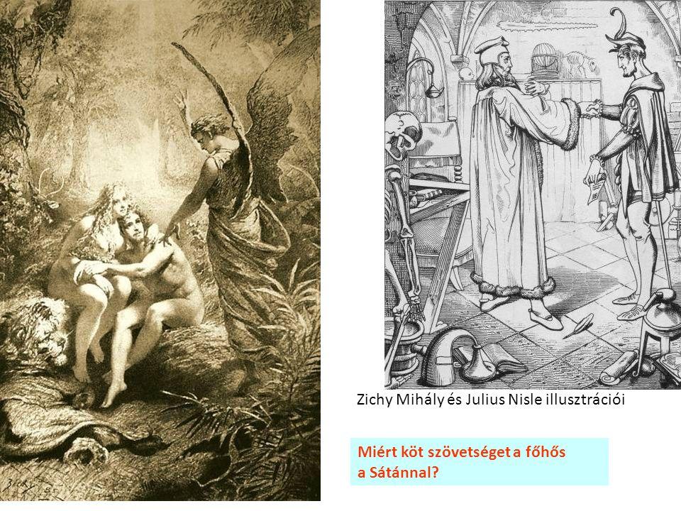 Zichy Mihály és Julius Nisle illusztrációi