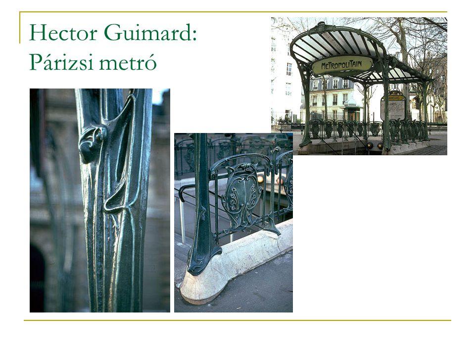 Hector Guimard: Párizsi metró