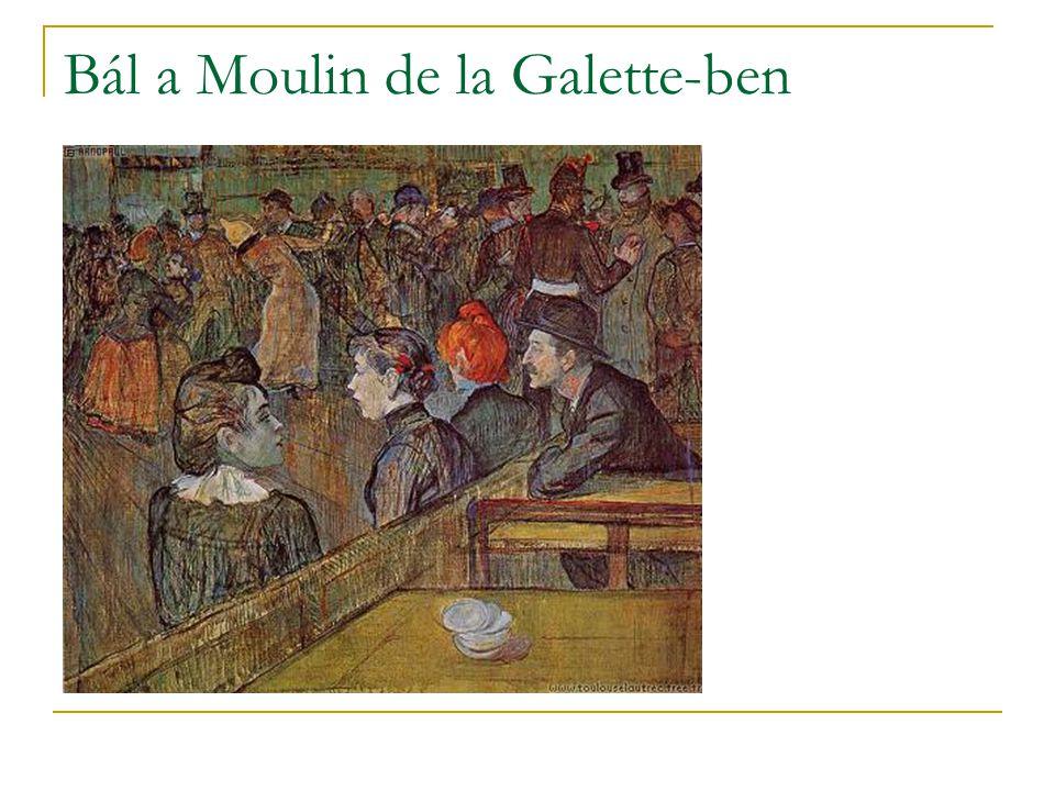 Bál a Moulin de la Galette-ben