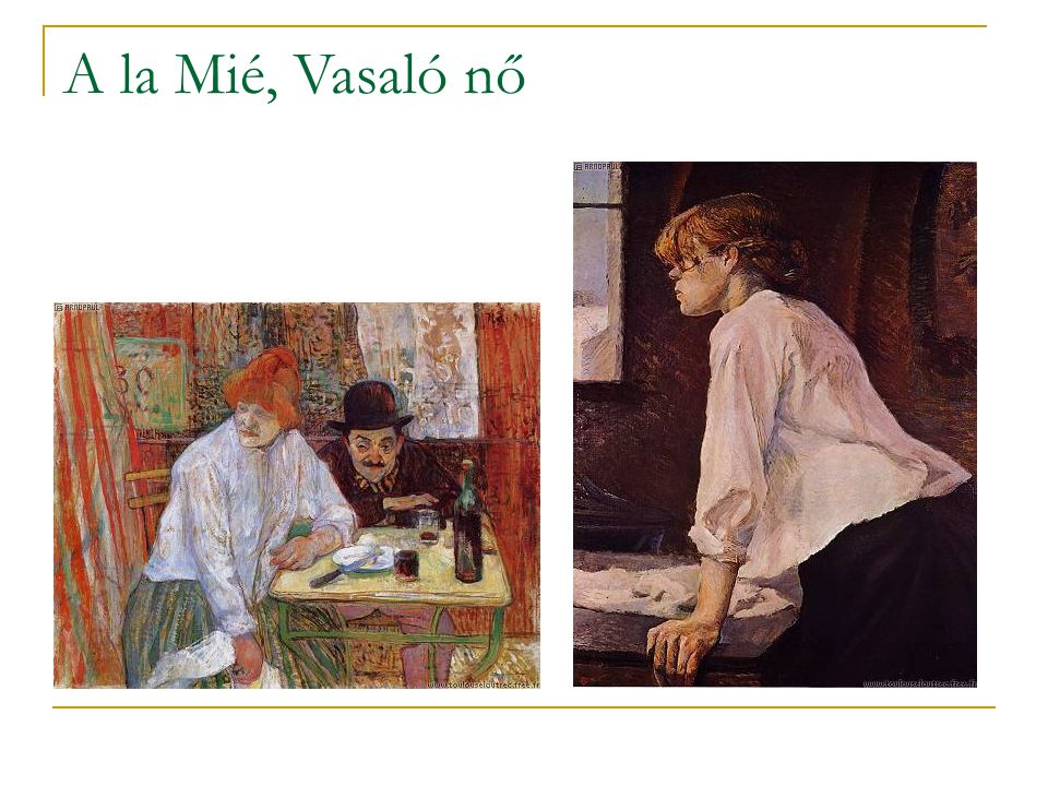 A la Mié, Vasaló nő
