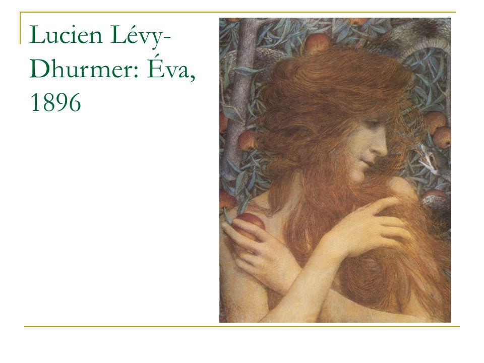 Lucien Lévy-Dhurmer: Éva, 1896