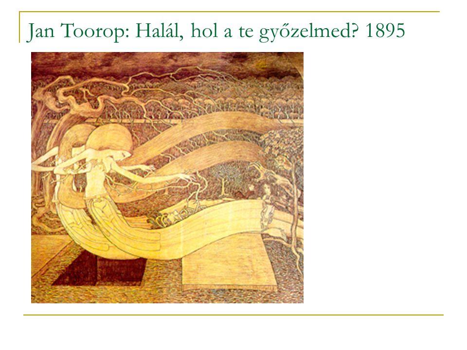 Jan Toorop: Halál, hol a te győzelmed 1895