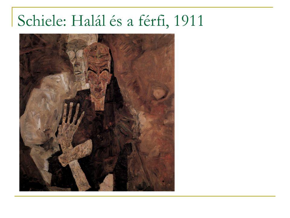 Schiele: Halál és a férfi, 1911