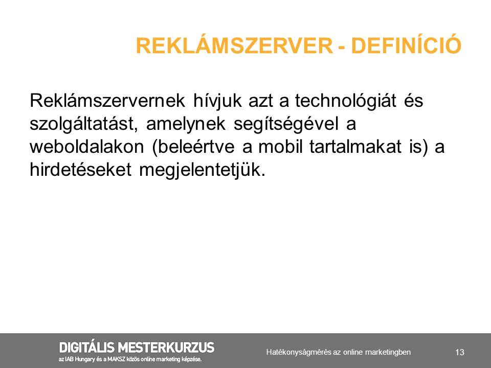 Reklámszerver - definíció