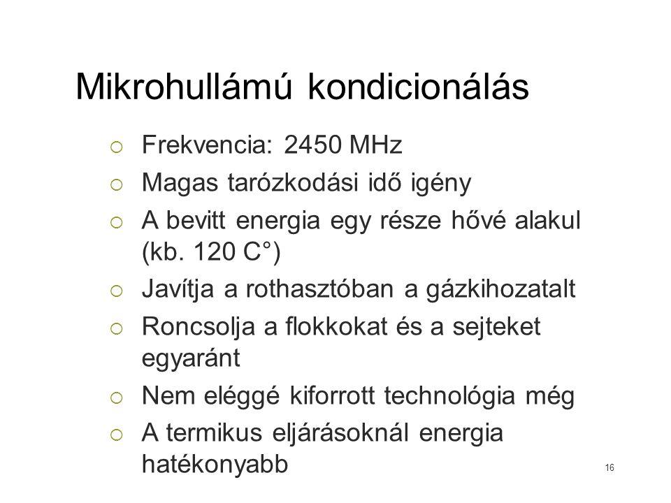Mikrohullámú kondicionálás