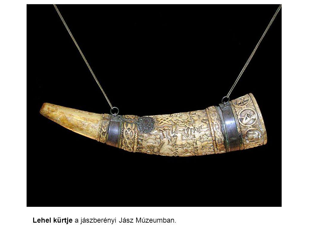 Lehel kürtje a jászberényi Jász Múzeumban.