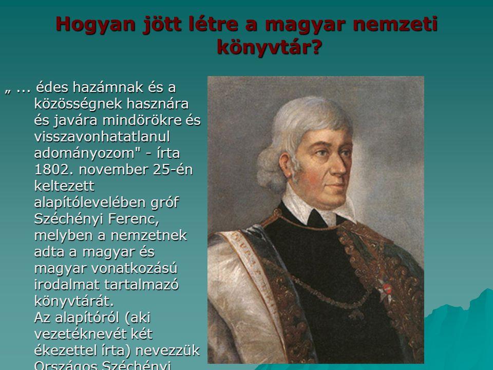 Hogyan jött létre a magyar nemzeti könyvtár