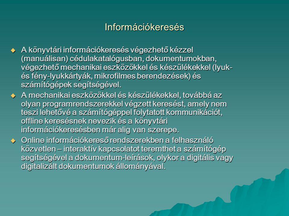 Információkeresés