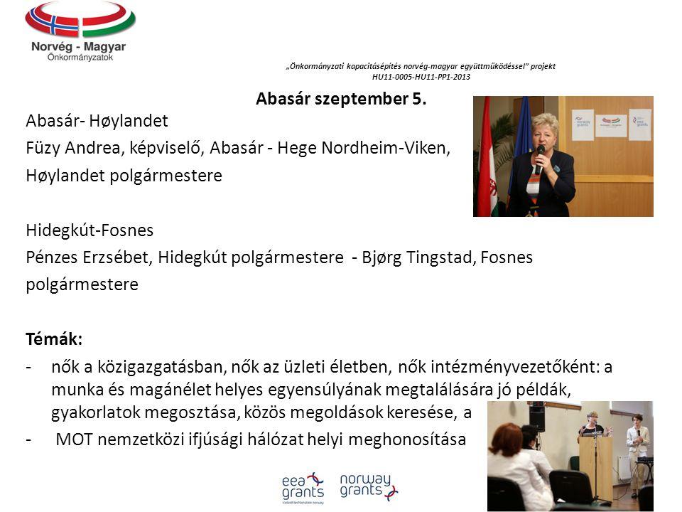 """""""Önkormányzati kapacitásépítés norvég‐magyar együttműködéssel projekt"""