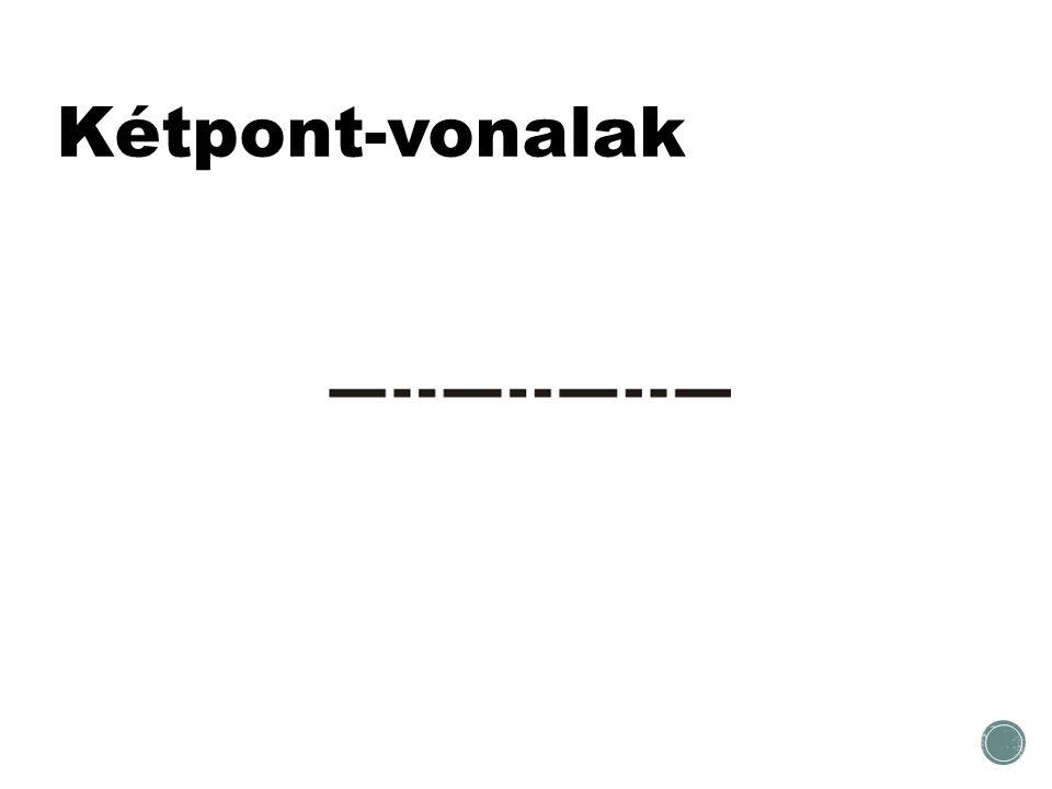 Kétpont-vonalak