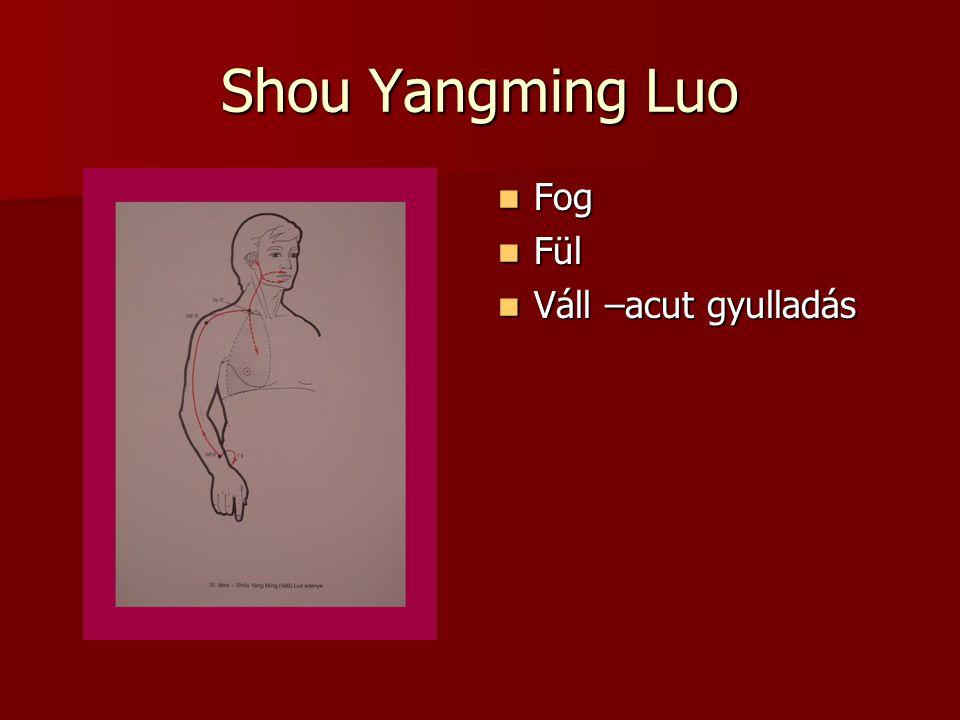 Shou Yangming Luo Fog Fül Váll –acut gyulladás