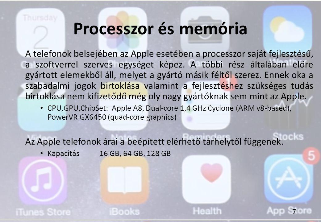 Processzor és memória